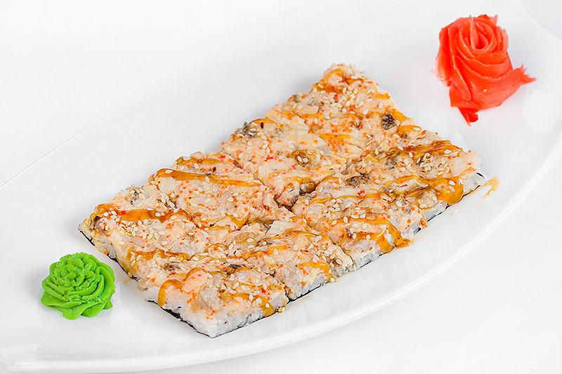 """Японская пицца """"Морская"""""""