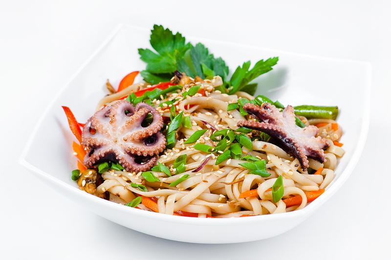 WOK c морепродуктами
